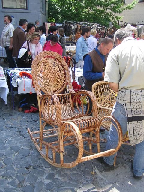 Плетене крісло