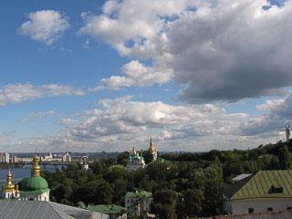Вид Києва