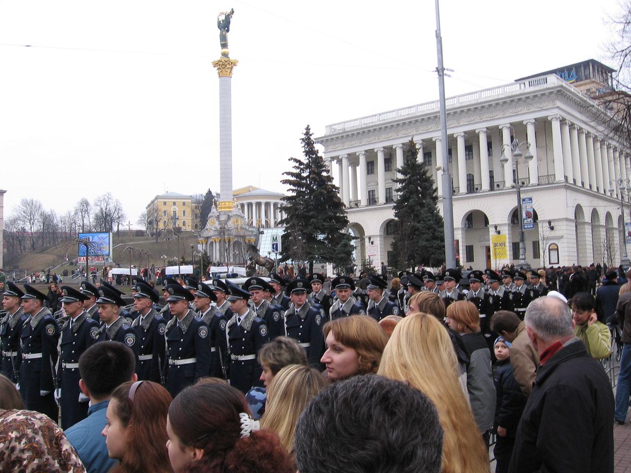 Міліція на Хрещатику
