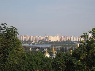 Вид Києва, Харківський масив