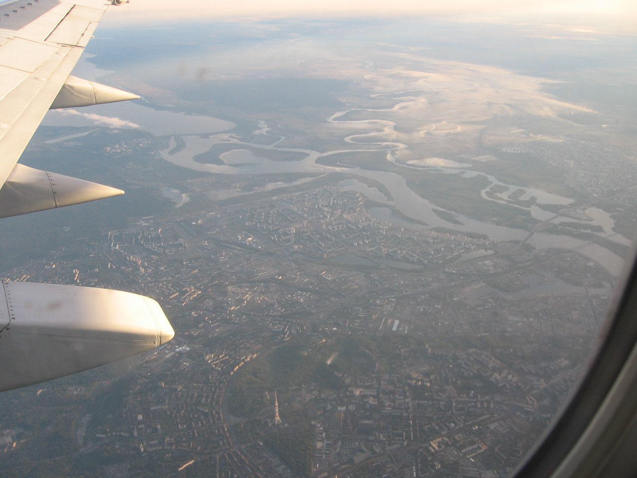 Київ з літака