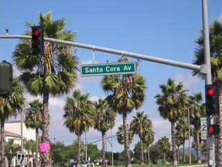 Santa Cora Ave