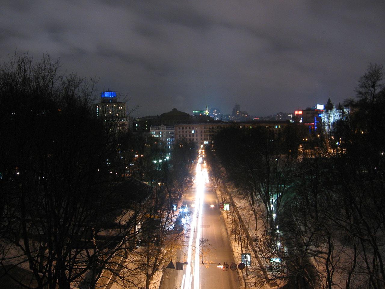 Вид з мосту Закоханих