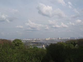 Дніпро та лівий берег