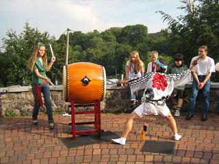 Японські барабани