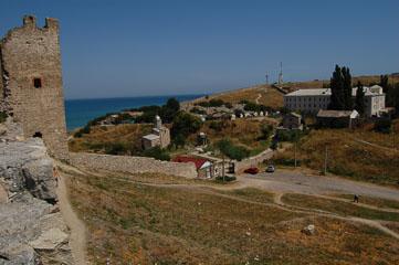 Вид з фортеці