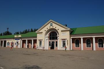 Вокзал в Феодосії