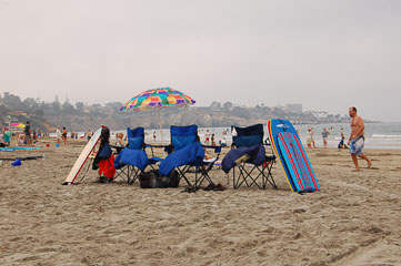 Пляжні стільці
