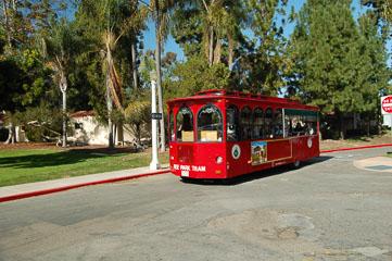 Трамвай на колесах