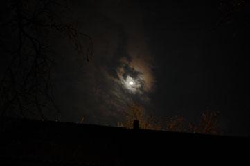 Місяць на небі