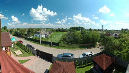 Панорама з готелю