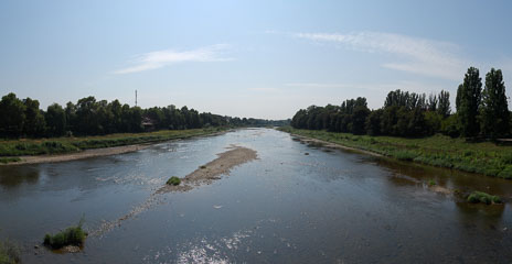 Панорама річки Уж