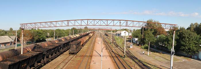 Панорама залізниці
