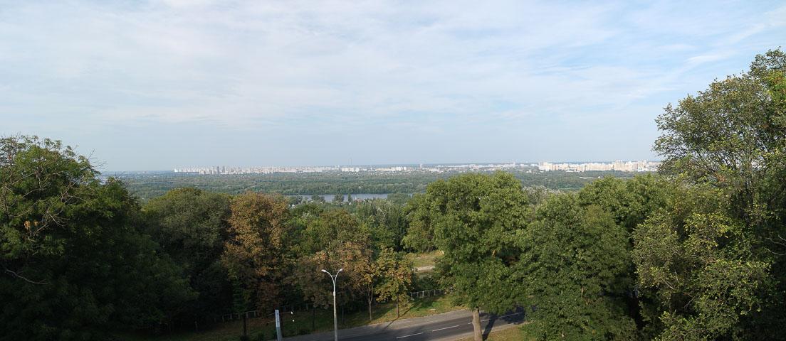 Панорама лівого берега