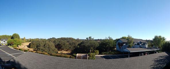 Панорама з балкону