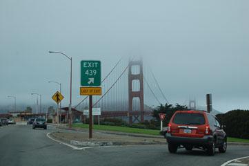 Золоті Ворота в тумані