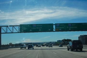 Їдемо в напрямку Long Beach