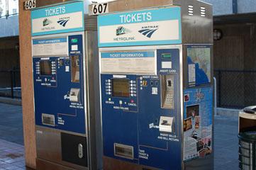 Кіоски продажу квитків