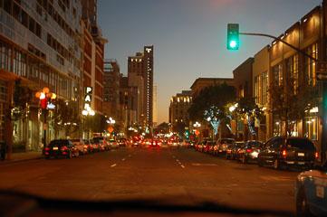 Нічний San Diego
