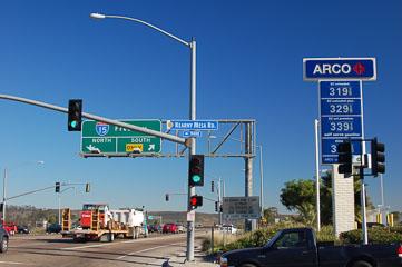 Виїзд на 15-й freeway