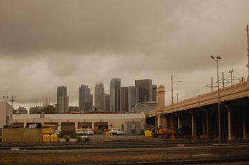 Хмарочоси центру Los Angeles
