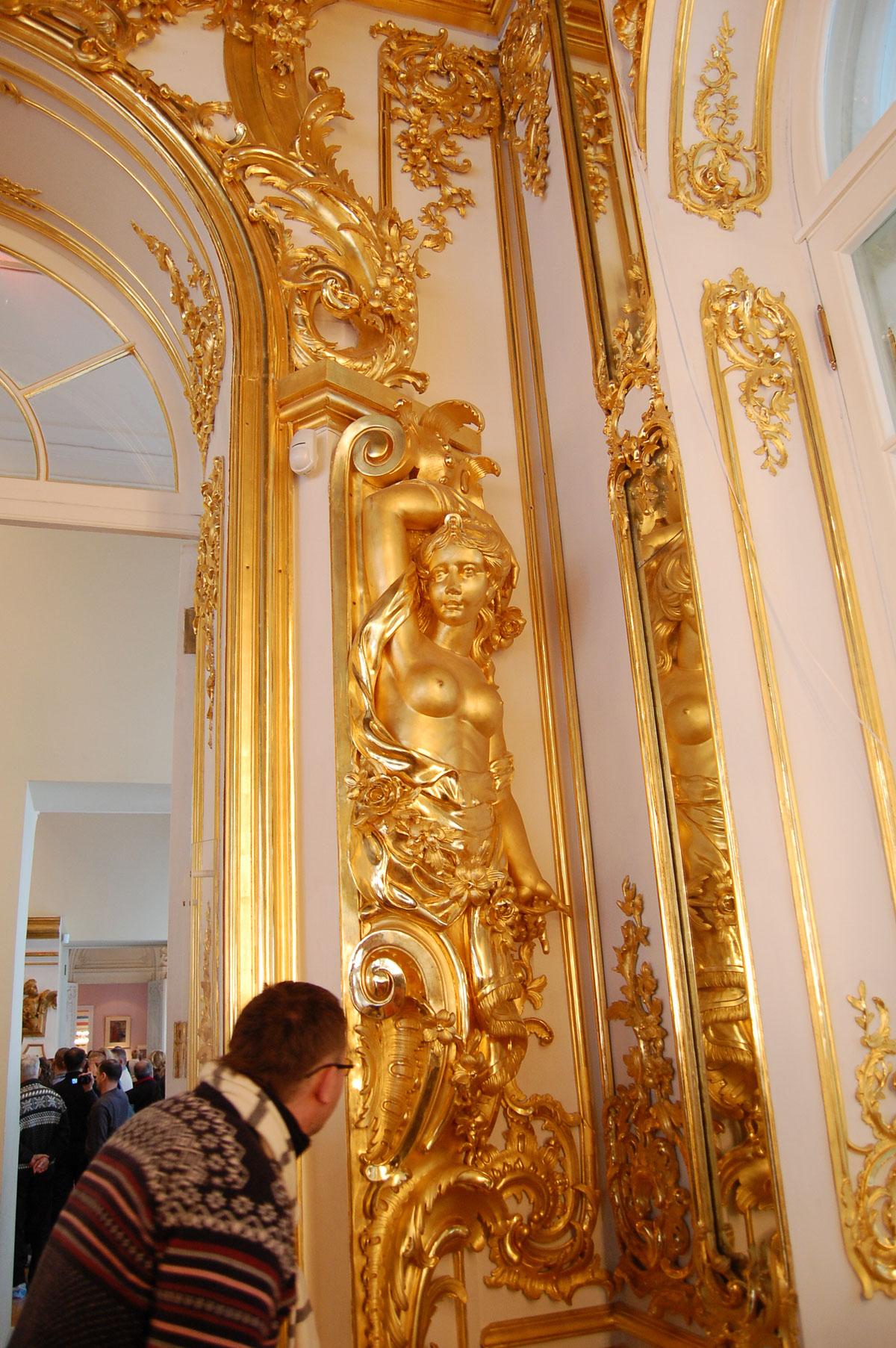 Фігури із золотим покриттям