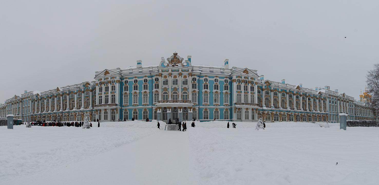 Панорама Катеринівського палацу