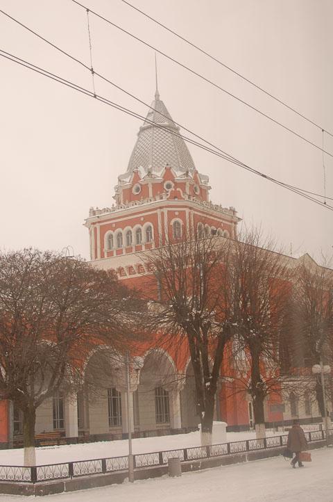 Вокзал в Чернігові