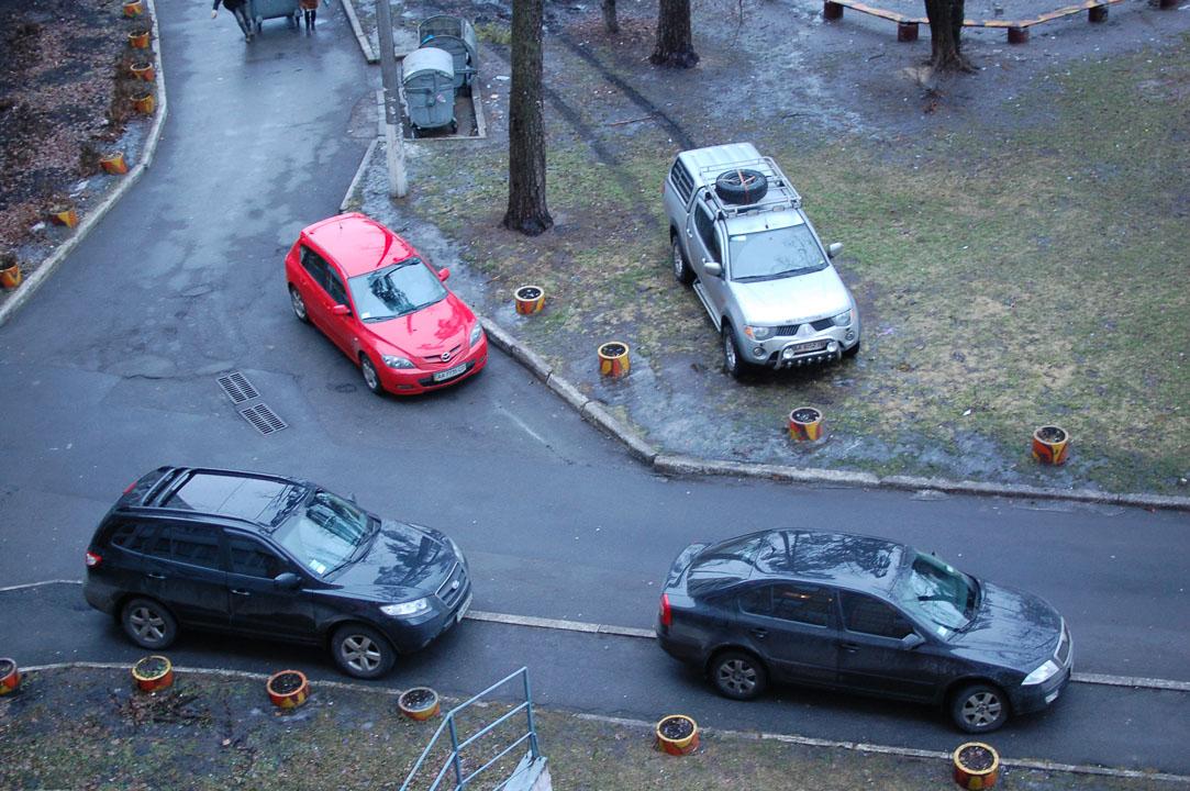 Паркування «розумників»