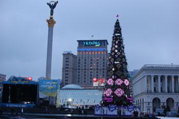 Ялинка на Майдані