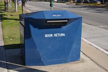 Повернення книжок в бібліотеку