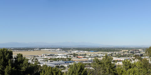 Панорама аеропорту Лонг Біч