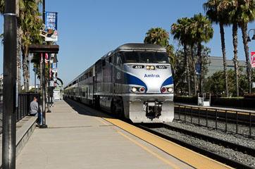 Потяг на San Diego