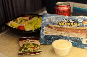 Сніданок в потязі