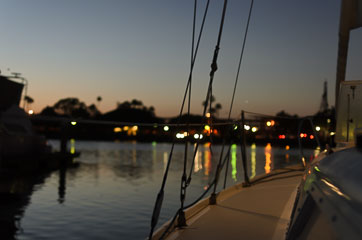 На човні