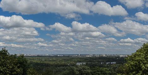 Панорама лівого берегу