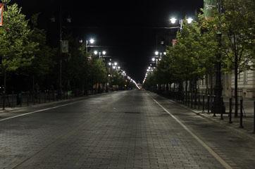 Нічний Вільнюс