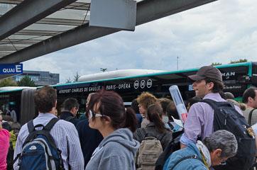Переповнений автобус