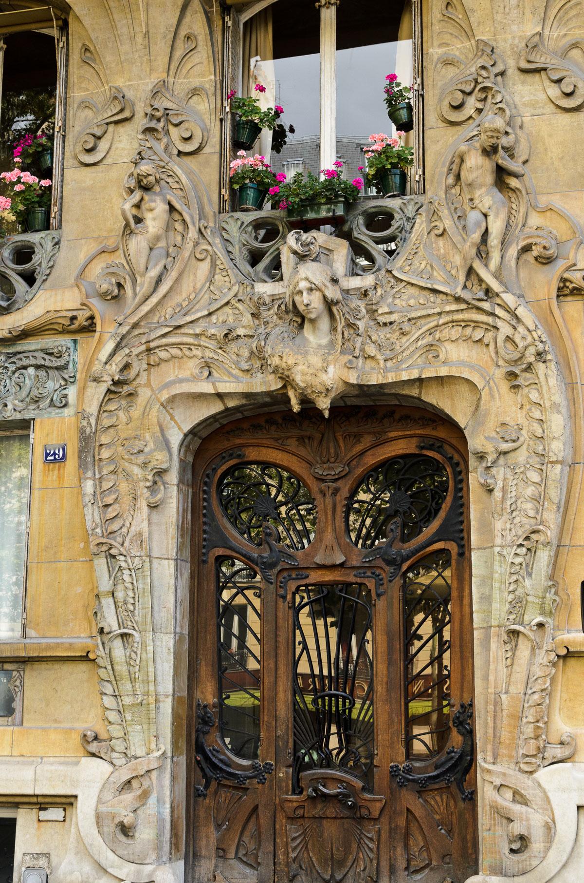 Гарні двері