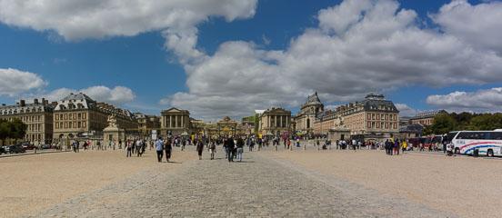 Панорама Версалю