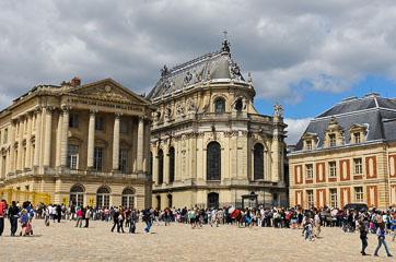 Черга на вхід у Версаль