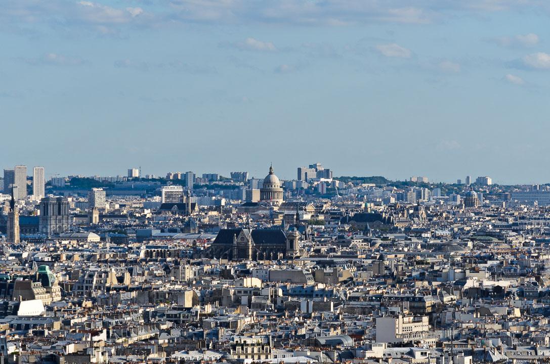 Париж згори