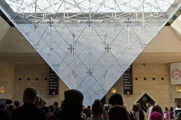 Піраміда всередину
