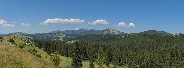 Панорама Ґорґанів