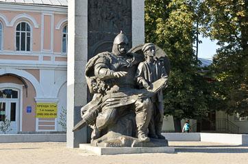 Пам'ятник заснуванню міста