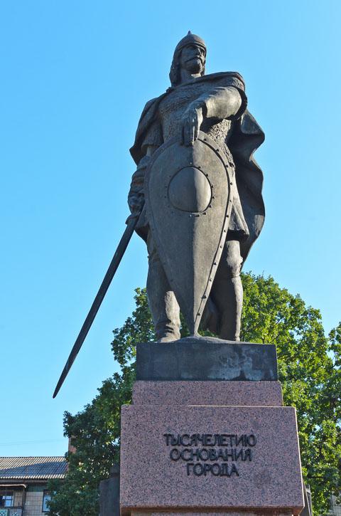 Пам'ятник засновнику міста