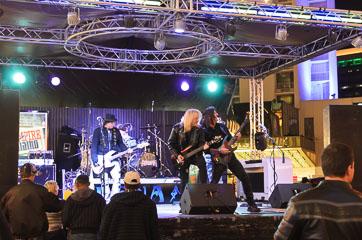 Виступ рок-гурту