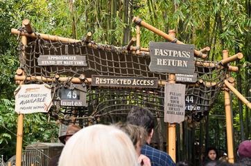 Вхід в атракціон Indiana Jones Adventure