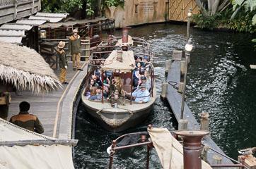 Атракціон Jungle Cruise
