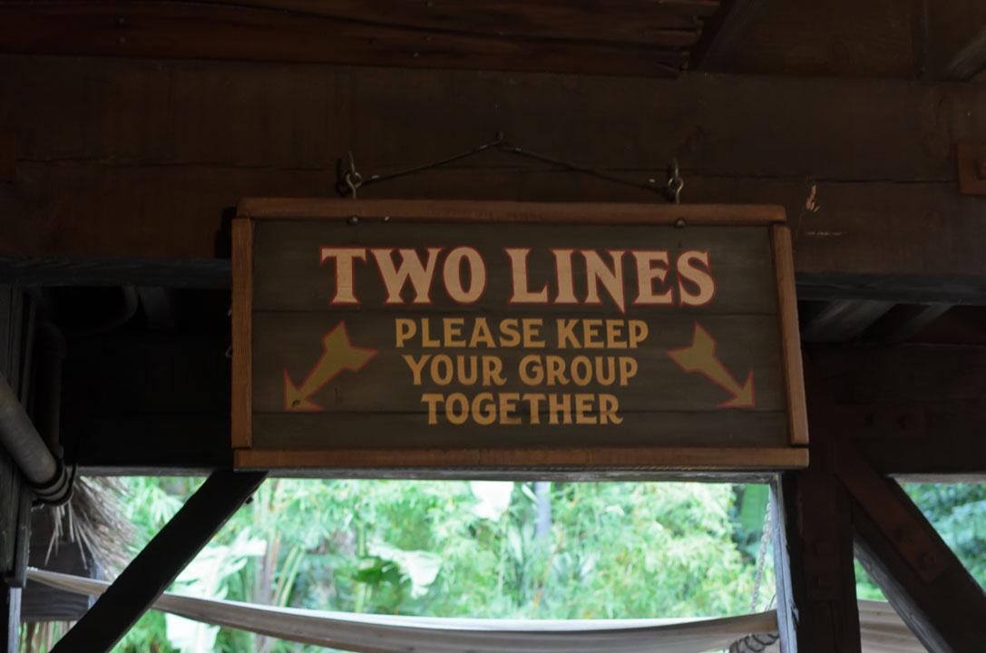 2 лінії черги